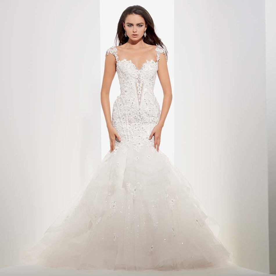 Bodice Wedding Gown: Alice New Arrival Item Designer Sexy Mermaid Lace Bodice