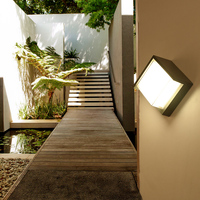 Outdoor Wall Lamp led Waterproof Lamp Corridor Aisle Staircase Wall Lamp Modern Outside Wall Light Garden Lamps Outdoor Lighting
