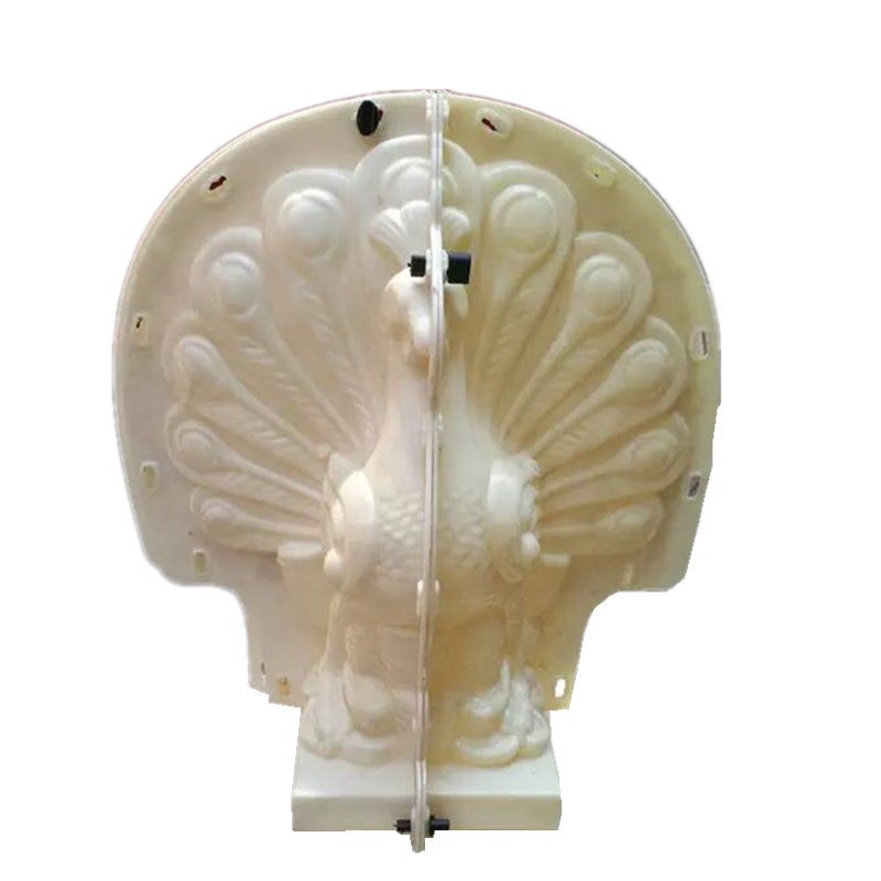 48cm 19 9in Classic European Eastern Chinese Style Durable Peacock Turkey ABS Plastic Concrete Mold Home