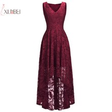 2019 Sex Lace Plus Size Short Cocktail Dresses A line Sleeveless V Neck Prom Party Gown robe de cocktail