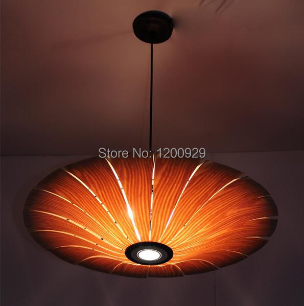 Dia50cm/60cm/70cm Creative LED Umbrella Wooden Bark Pedant Light Living Room/Home Luxury Lamp Free Shipping/Hot Selling PLL-440 free shipping dia 84cm hot selling unique lotus water resistant sunscreen classical dragonfly decorative oiled paper umbrella