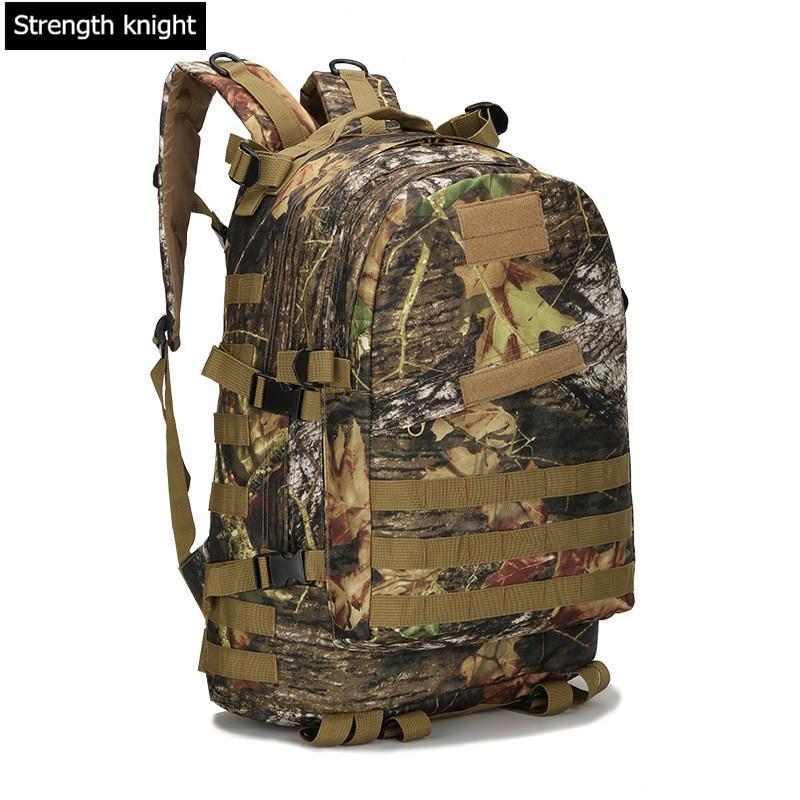 купить Mountaineering Bag 3D Military  Backpack Nylon Waterproof Male Female Backpack Army Fans Camouflage Travel Bag X45 недорого