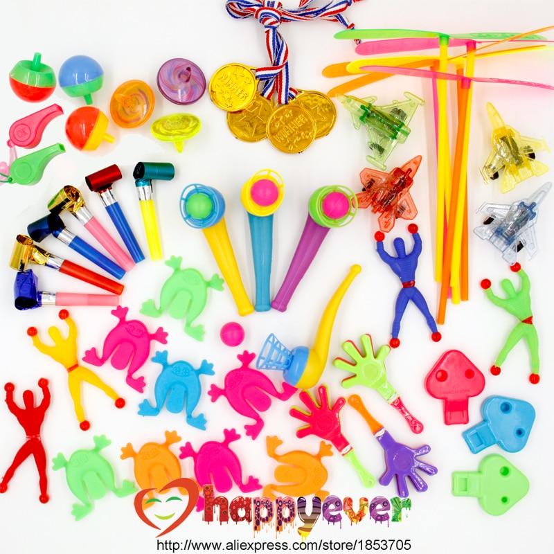 50pcs Kids Birthday Party Favors Pinata Filler Gift Toys Goo Bag Carnival Prizes Ortment