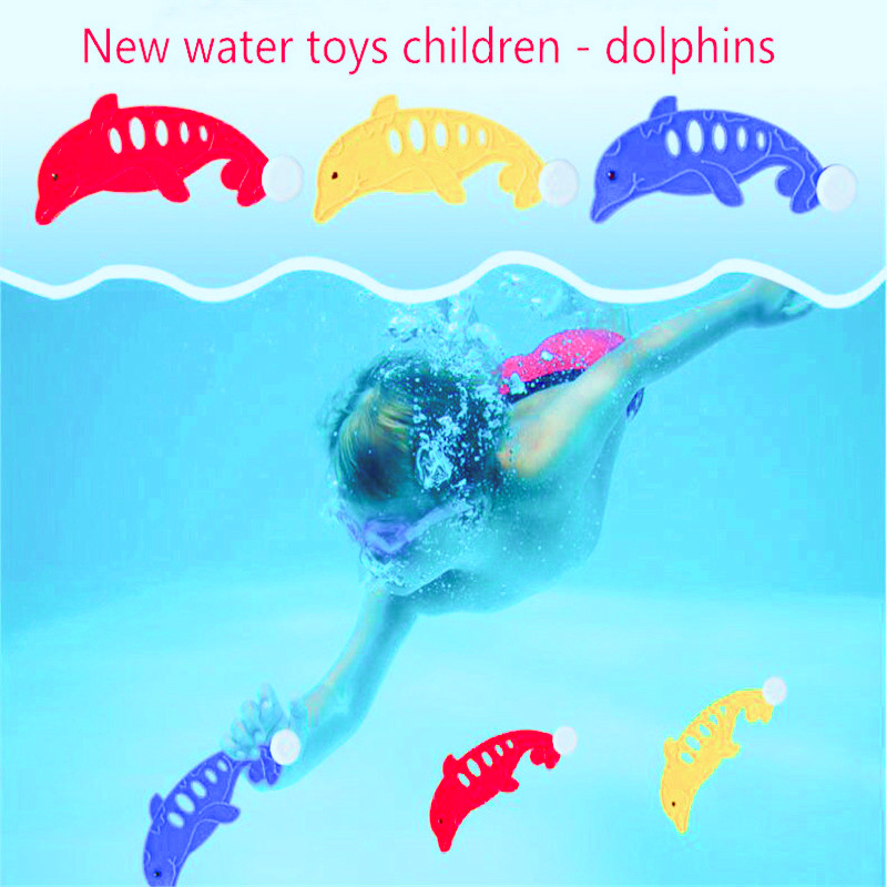 New products Summer parent-child interaction Children's play Sports diving Dolphin Swimming pool toys