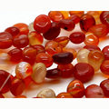 "Wholesale Natural Red Carnelian Red Agate Nugget Loose Beads Free Form 8-10mm Fit Jewelry DIY Necklace or Bracelets 15"" 03622"