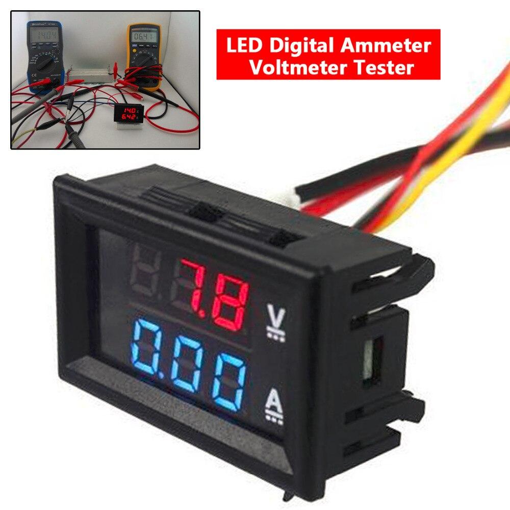 Multimetro Digital 1pc DC 100V 10A Panel 0.28