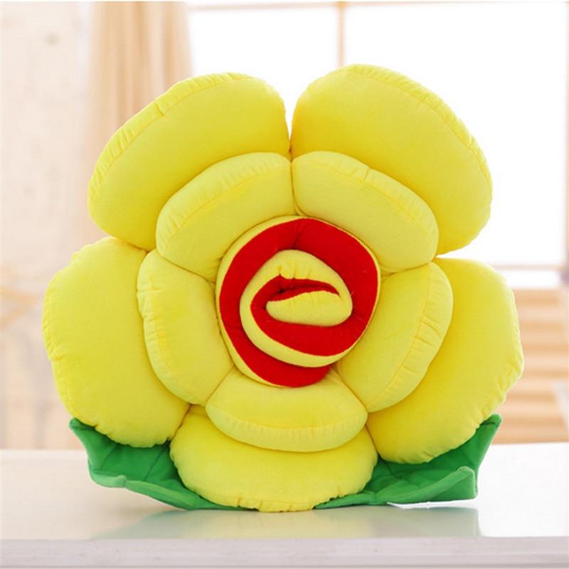 Fancytrader Big 90 cm Brinquedo Macio Recheado de Pelúcia Rosa Flor Travesseiro Almofada Do Sofá de Casa Mat Decoração de Aniversário Presentes do Dia Dos Namorados - 6