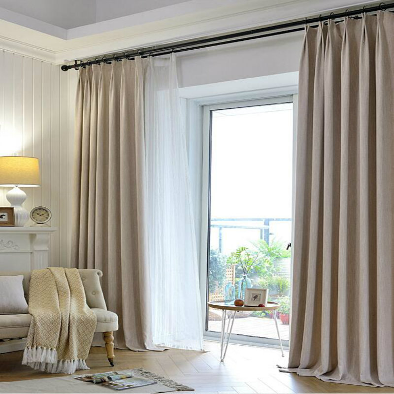 Modern Style Series/ Insulating White Gauze Curtain Sitting Room Bedroom  Window Curtain To Make To