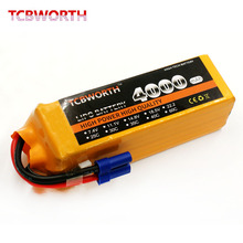 RC LiPo font b Battery b font 14 8V 4000mAh 40C 4S Plug for RC Helicopter