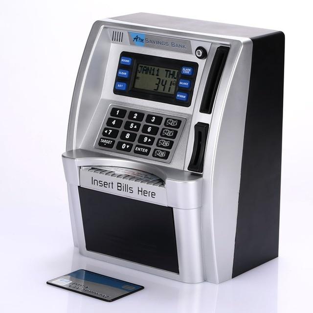 Simulación Banco de Ahorro ATM pantalla LCD para niños 2