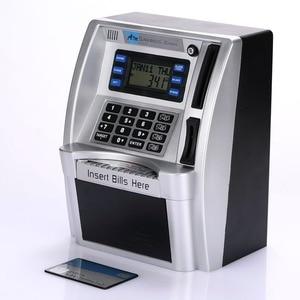 Image 3 - صناديق آمنة للأموال من giantree مزودة بشاشة LCD مصنوعة من الفضة ومناسبة كهدية للأطفال