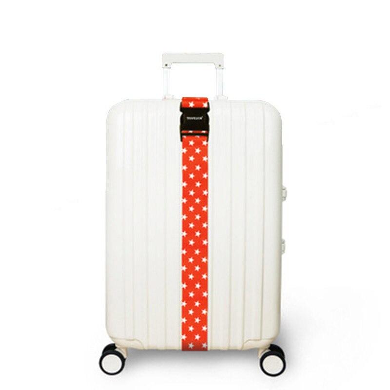 Patrones geométricos equipaje correa ajustable maleta Cruz correas ...