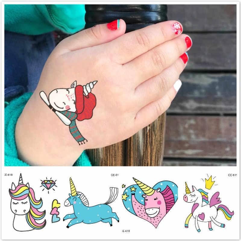 LOLEDE 1pcs ילדים אלגנטי קריקטורה חד קרן צבע נייר צעצועי ילדי אמנות קרפט DIY חינוכיים צעצועי מלאכת צעצועים