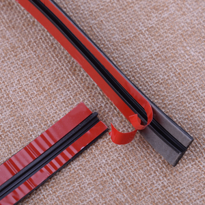Image 3 - 3M 118inch Car Door Seal Strip Front Rear Windshield Sunroof Weatherstrip Edge Protector Trim Rubber Anti Scratch Strip