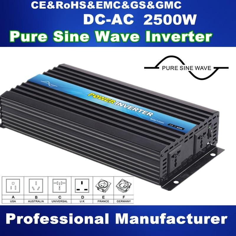 Cheap selling pure sine wave 2500w 12 volt inverter, off grid power inverter