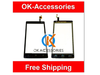 New Replacement Touch Screen Digitizer For ZTE Nubia Z5 NX501 Black Color 1PC Lot Over 10PCS