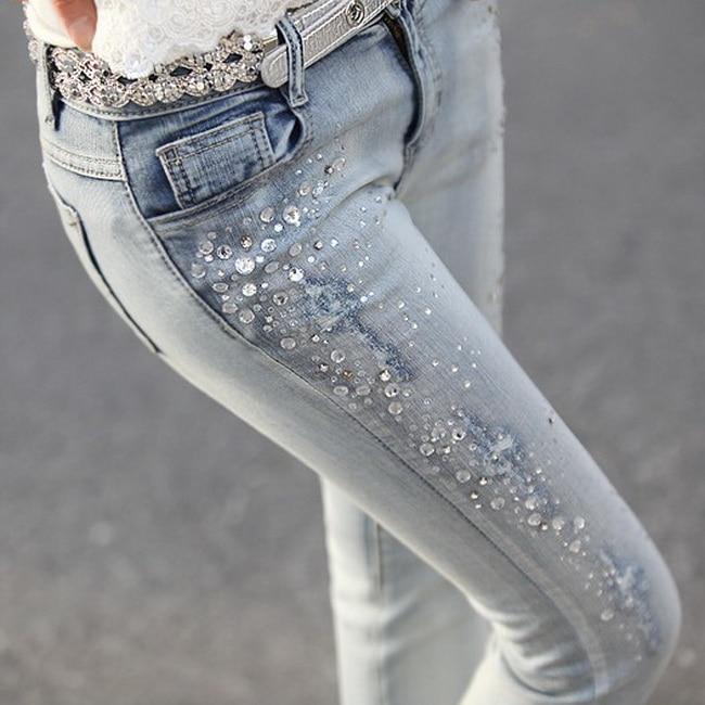 Online Get Cheap Rhinestone Denim Jeans -Aliexpress.com | Alibaba ...