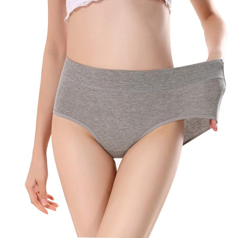 Women's Briefs Comfortable Cotton High Waist Underwear Women Sexy Intimates Ultra-thin Panties Dropship