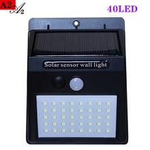 A2 Solar lantern energy light 40LED Motion Sensor Solar power lamp for Home garden outdoor Street Yard Path
