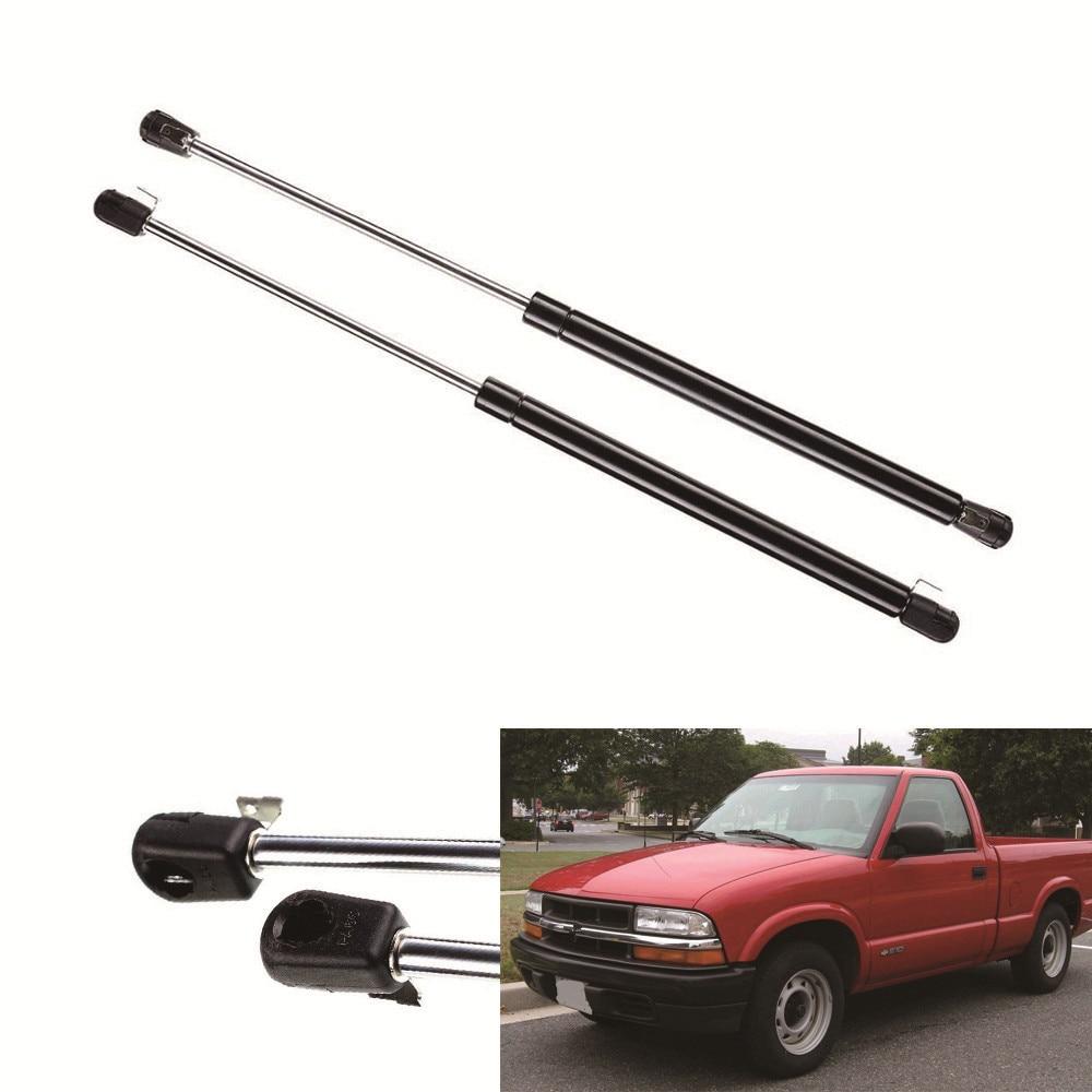 2pcs truck rear window lift supports car gas struts fits for chevrolet s10 blazer 83