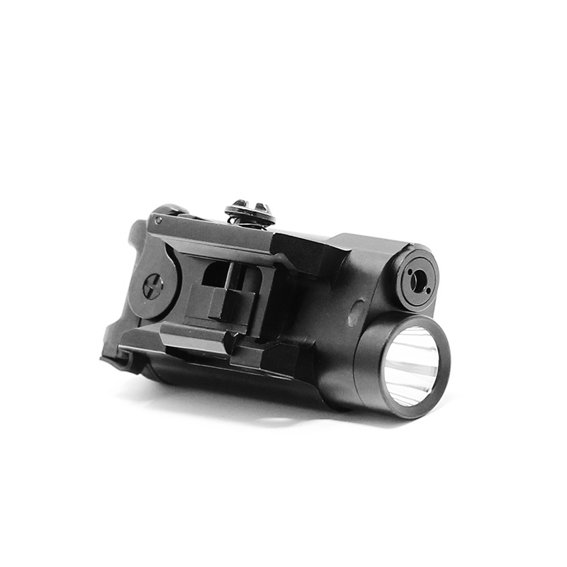 Compact design Rifle and Pistol LED light and green laser sight combo