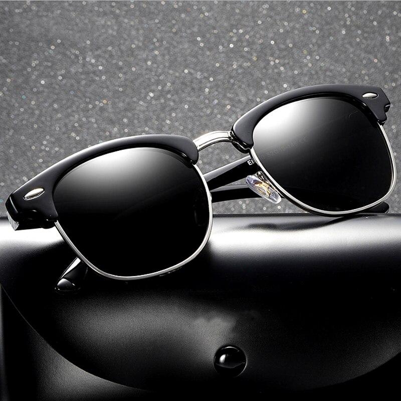 New 2019 Classic Polarized Sunglasses  Men Women Driving Square Style Sun GlassesDesign Frame 100% UV