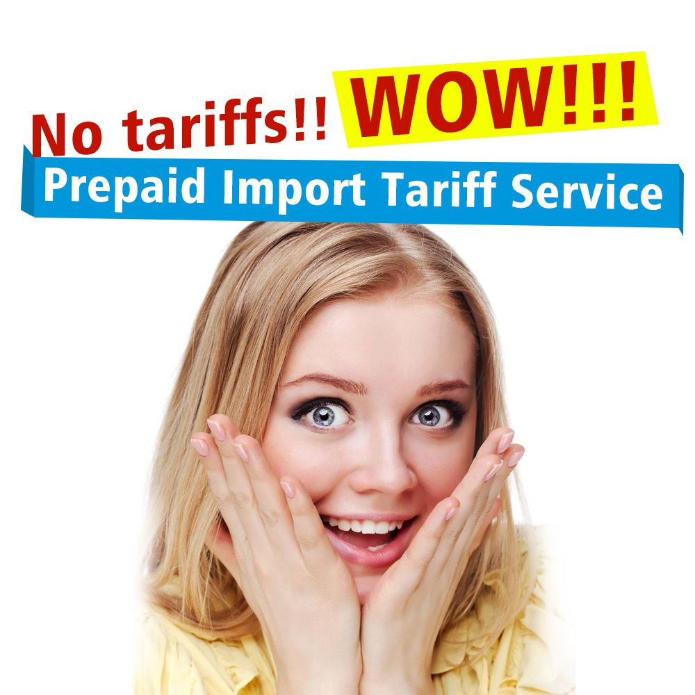 WOW  No Tax  Rigal Prepaid Import Tariff Service for UK   Spain  Germany  Italy  France  Ireland Portugal Buyer