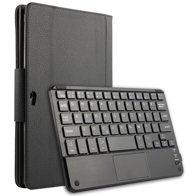 Bluetooth Keyboard Case For Huawei Mediapad M2 10.0 Wireless Bluetooth Keyboard Leather Case For Huawei M2-A01L M2-A01W + Gift