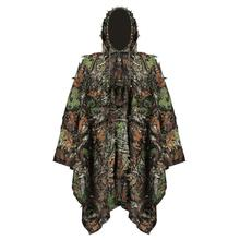 The latest Dry Grass type Desert Ghillie Camouflage Suit Camo CS Stealth Sniper Hunting Paintball Suit CS Tactical Ghilly Suit osdream outdoor black python pattern tactical suit battle strike uniform suit camping hiking hunting paintball camo suit