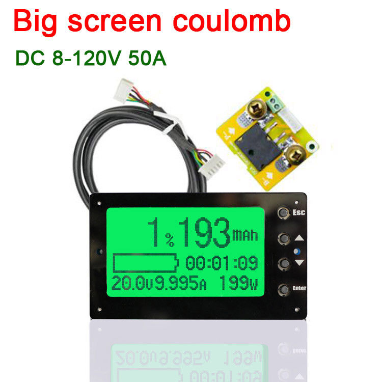 Active Components Battery Monitor Capacity Tester Dc 120v 50a/100a/350a/500a Car Lithium Lead-acid 12v 24v 48v To Adopt Advanced Technology