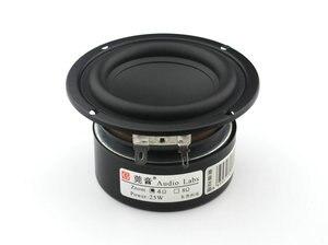 Image 5 - Sounderlink etiquetas de áudio 3 25w, subwoofer, woofer, graves, driver de alto falante cru 4 ohm 8ohm para diy, 1 peça monitor de áudio home theater