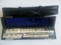 Высокое Качество Японии флейта YFL 211SL музыкальный инструмент флейта 16 ботфорты C мелодию и E ключ флейта жесткий коробка Профессиональный Бе