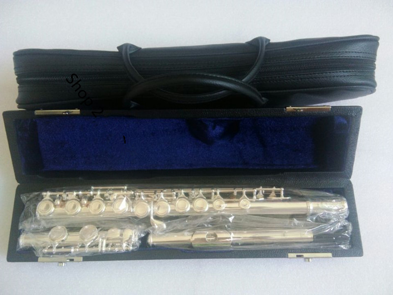High quality Japan flute FL-211SL musical instrument Flute 16 over C Tune and E-Key Flute Hard box professional Free shippingHigh quality Japan flute FL-211SL musical instrument Flute 16 over C Tune and E-Key Flute Hard box professional Free shipping