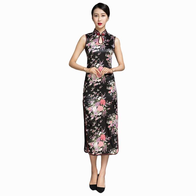 54e234c8dde Элегантный женский китайский классическое Ципао традиционные Вечеринка  платье ...
