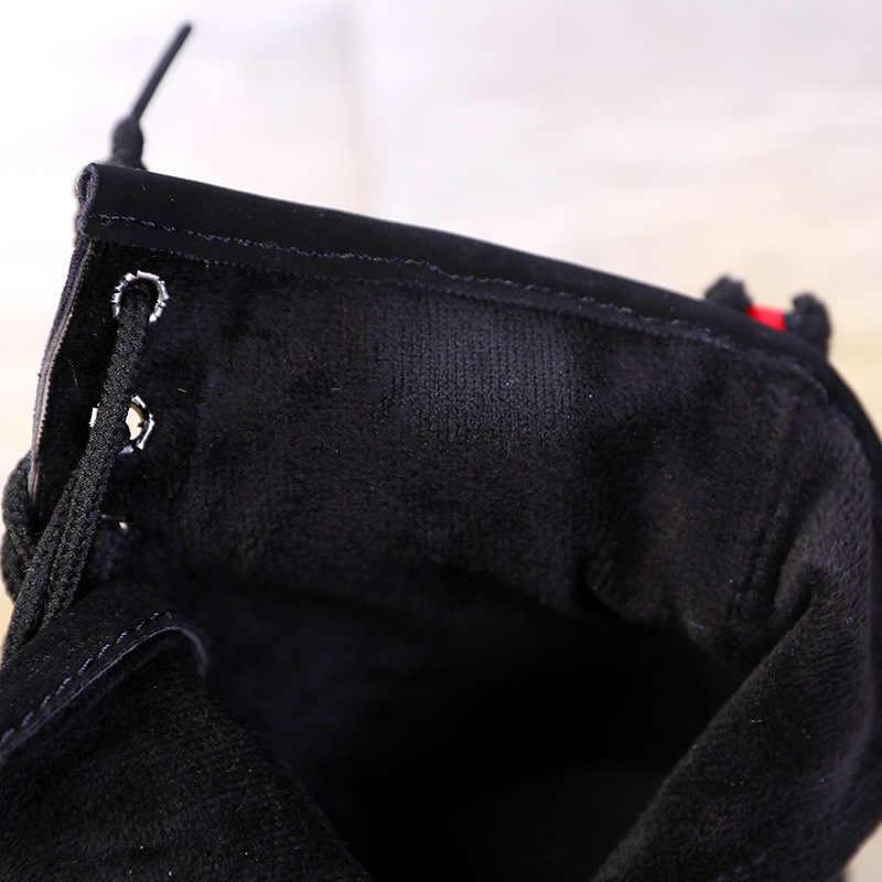 Mut-Mat Çocuk Martin çizmeler deri Çizmeler Erkek ve kız İngiliz tarzı Moda çizmeler yumuşak alt Prenses botları