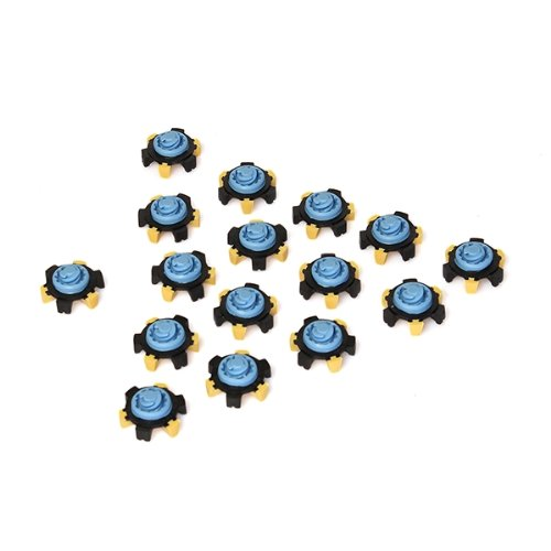 5pcs Set Of 16 Crampon Point Tricolor For Sports Golf Shoes