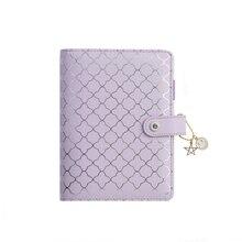 Lovedoki Luxe Paars Notebooks en Tijdschriften A6 Bindmiddel Agenda Planner Organizer Dagelijkse Schema Boek Gift School Briefpapier