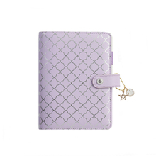 Lovedoki Luxury Purple Notebooks and Journals A6 Binder Agendas Planner Organizer Daily Schedule Book Gift School Stationery