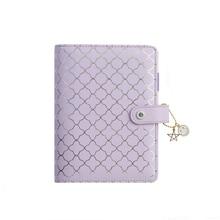 Lovedoki luxe violet cahiers et revues A6 classeur agenda agenda organisateur quotidien calendrier livre cadeau école papeterie