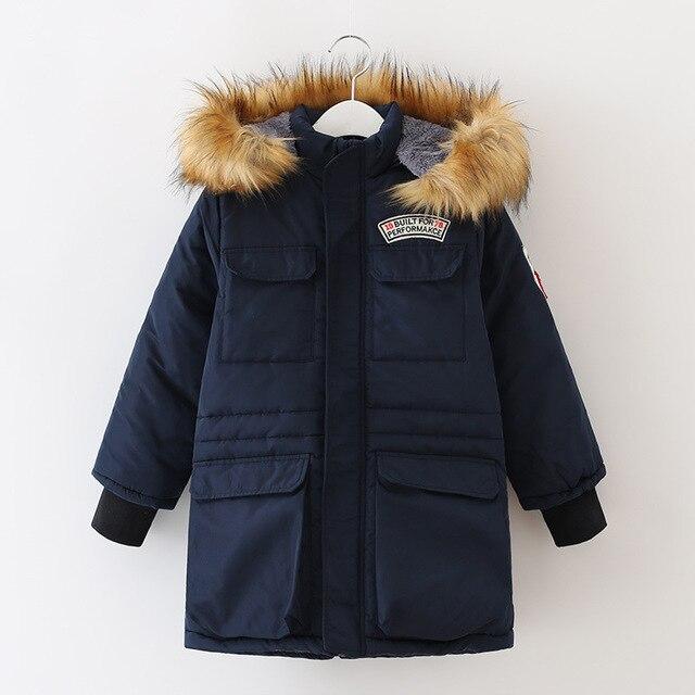 4 Т до 14 Т для детей и девочек-подростков мальчики съемная искусственного меха с капюшоном стеганые руно зима повседневная куртка куртка и пальто chirstmas парка