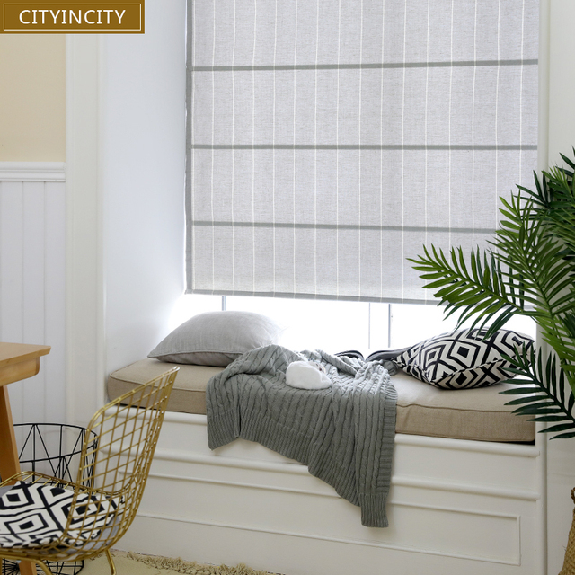 CITYINCITY plissee römischen vorhang Für wohnzimmer halb Blackout jalousien  rollos für Küche und Schlafzimmer fenster Angepasst