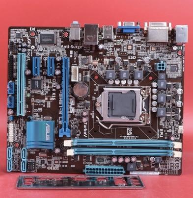Free shipping original motherboard for Gigabyte GA-P61-USB3-B3 DDR3 LGA 1155 P61-USB3-B3 16GB H61 Desktop motherboard gigabyte ga p61 s3 motherboard h61 type all solid state large panel