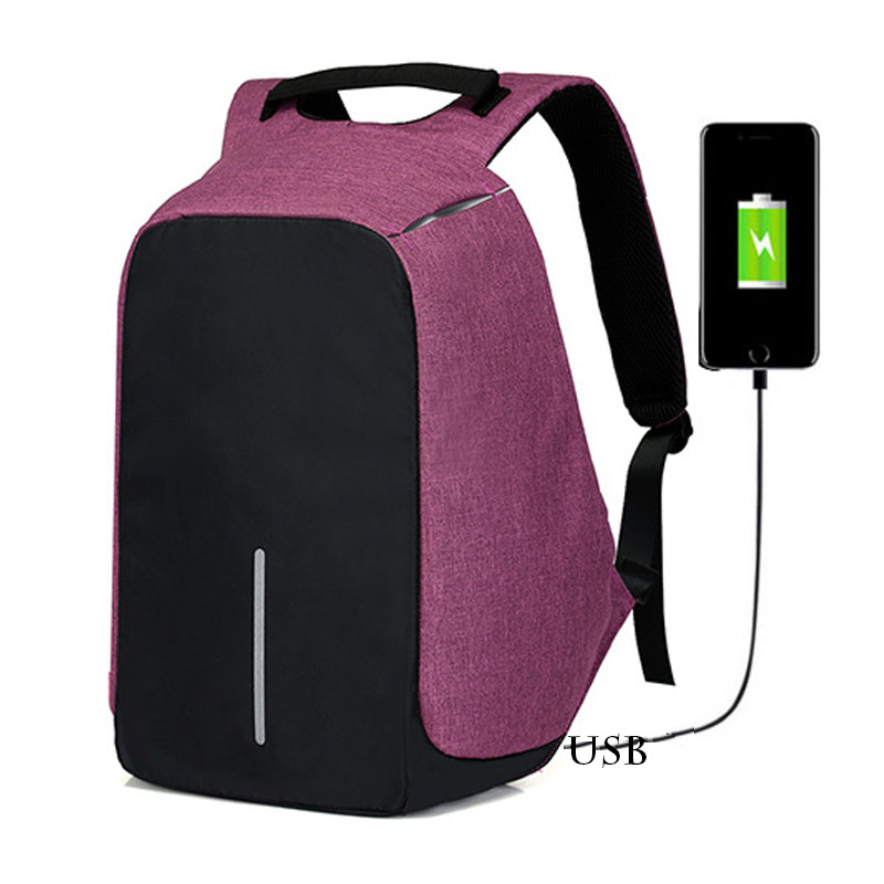 USB Charging Anti Theft Backpack fashion Laptop Backpack Travel feminine Backpack Waterproof School Bag bobby Male sac a dos