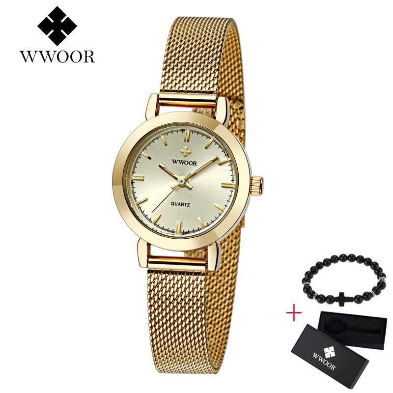 2019 WWOOR Quartz Women Watches Brand Luxury Stainless Steel Mesh Band Ladies Dress Watch Wristwatch Clock Female Gift Relogio2019 WWOOR Quartz Women Watches Brand Luxury Stainless Steel Mesh Band Ladies Dress Watch Wristwatch Clock Female Gift Relogio