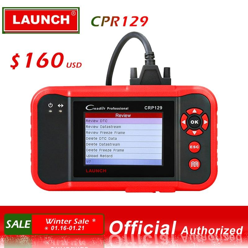 Launch X431 Creader 129 CRP129 OBD OBD2 OBEII четыре системный сканер ENG/AT/ABS/SRS Reset Funcitons Запуск диагностического инструмента Горячая продажа-in Считыватели кодов и сканирующие инструменты from Автомобили и мотоциклы