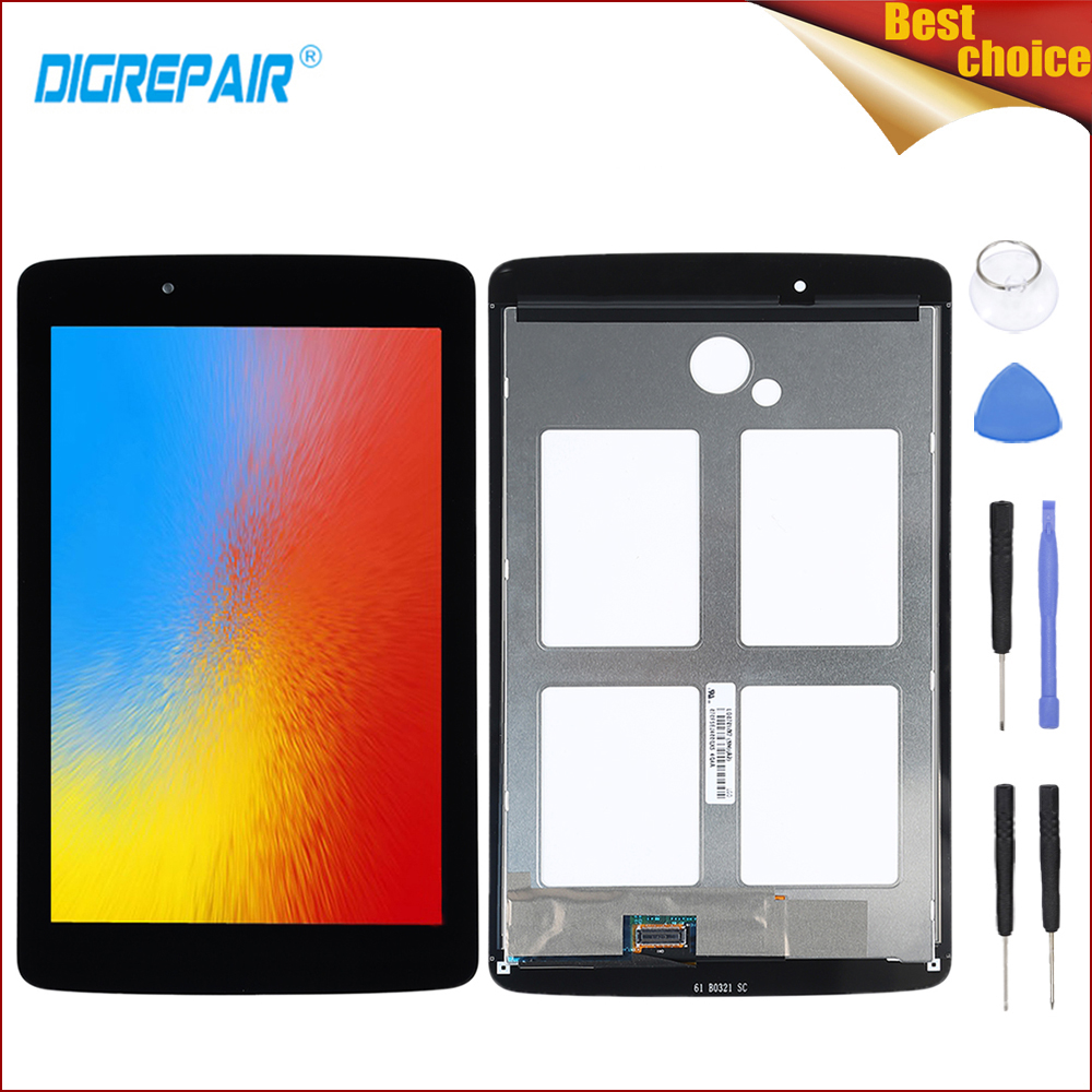 US $31 53 17% OFF|For lg v400 lcd Black For LG G Pad 7 0 V400 LCD Display  Touch Screen Digitizer Sensor Tablet Assembly Parts display v400 screen-in