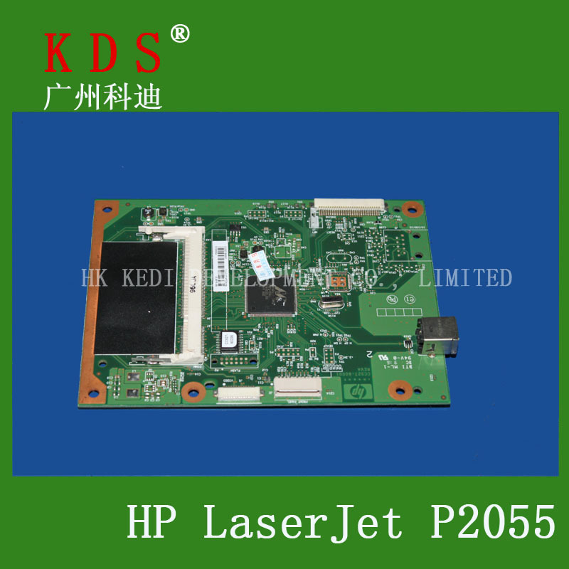 Laserjet Formatter Board For HP P2055DN  2055D Logic Board Original And New Pre-tested  CC527-60001 officejet parts laserjet printer for hp 2055dn motherboard logic board used pre tested high quality in store