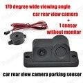 2 in 1 Universal Reversing Camera with sensor Auto Car Rear View Camera Backup Camera Parking sensor