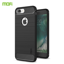 For iPhone 8 plus Case Cover MOFI Fitted TPU Cases High Quality Soft Back Phone