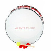24 Inch Red Afanti Music Bass Drum BAS 1452